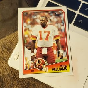 Doug Williams football card